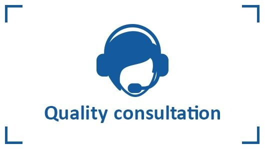 Quality consultation and fast communication