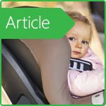 Features of the car seats use for children in winter