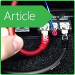 How to set up and configure the audio amplifier in the car