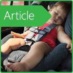 How to teach a child to ride in the car seat?