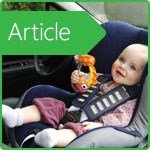 Is it possible to carry a child in a car seat in the front seat?