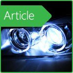 Dangers and risks of using xenon automotive bulbs