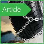 Snow chains: recommendations on the selection and operation