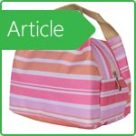 Thermobag - fashionable and original accessory for picnic