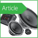 What is the difference between coaxial and component speakers?
