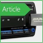 Review of the digital media receiver Alpine UTE-200BT