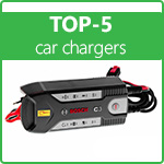 TOP-5 car chargers! Rating of the best chargers for batteries 2021!