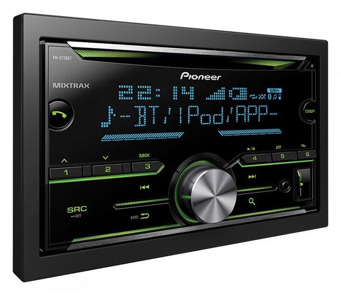 Autoentertainment Autoradios Pioneer FH-X730BT Double DIN ...