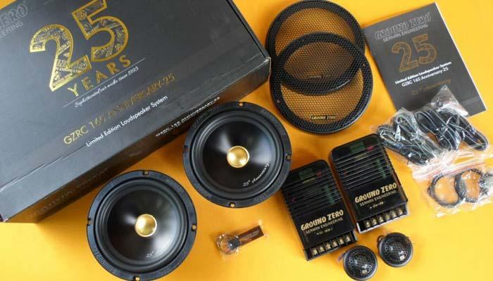 Обзор компонентной акустики GROUND ZERO GZRC 165 Anniversary