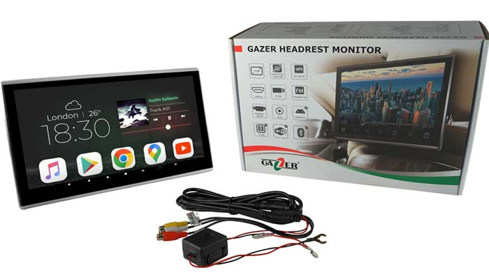 Overview of automotive Gazer HR100 monitors and Gazer HR250