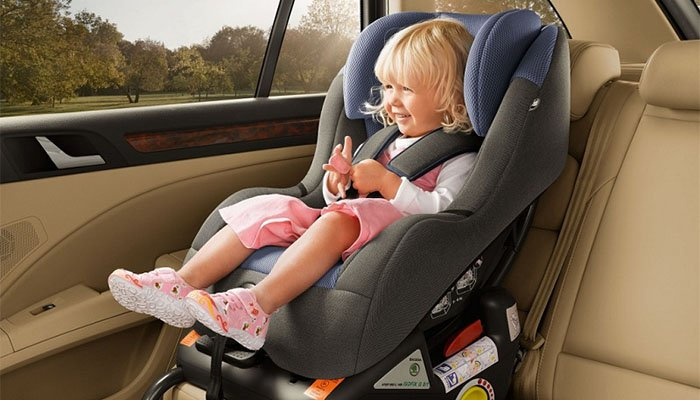 How to properly install child seats