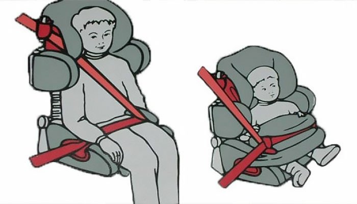 How to properly install child car seats