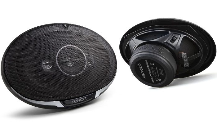 Overview of the Kenwood KFC-PS series coaxial speakers