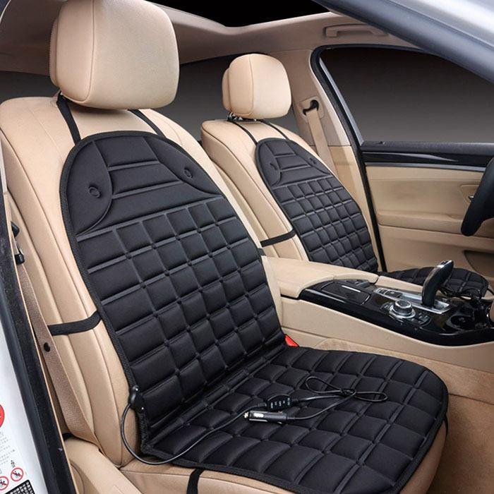 Опция — теплые сиденья, как дополнительный комфорт автомобиля