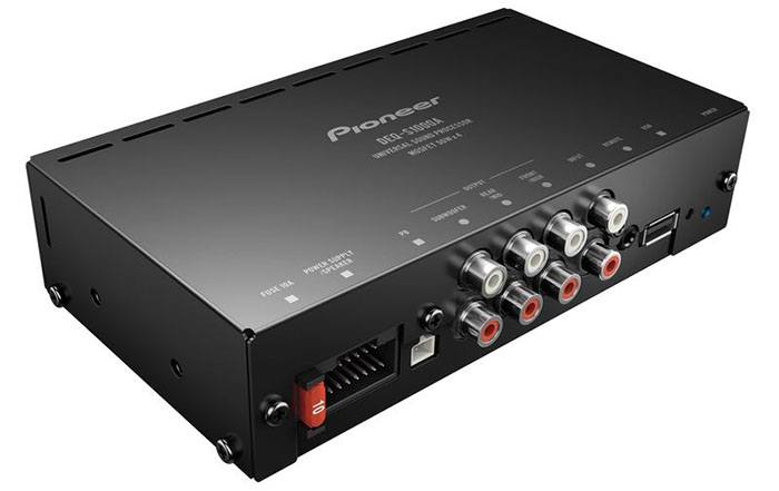 Amplifier with a DSP processor in systems with a standard HU ― 130
