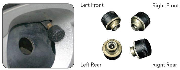 Система контроля давления в шинах Whistler TS-104
