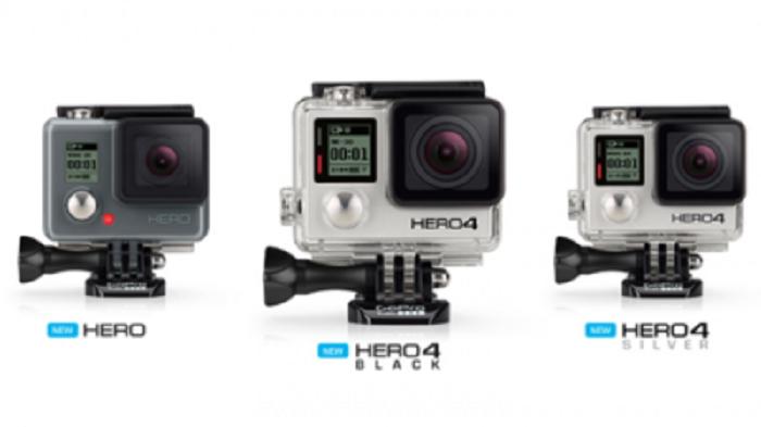 GoPro Hero4 — новая линейка популярных экшн-камер