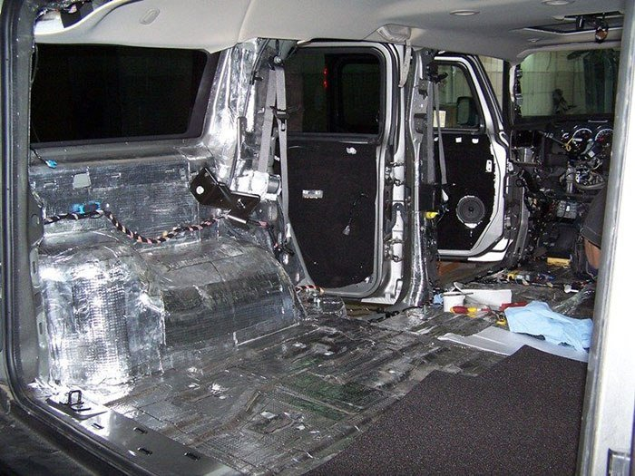 Шумоизоляция автомобиля. Виды материалов для шумоизоляции