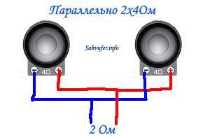 Подключение 2-ух сабвуферов