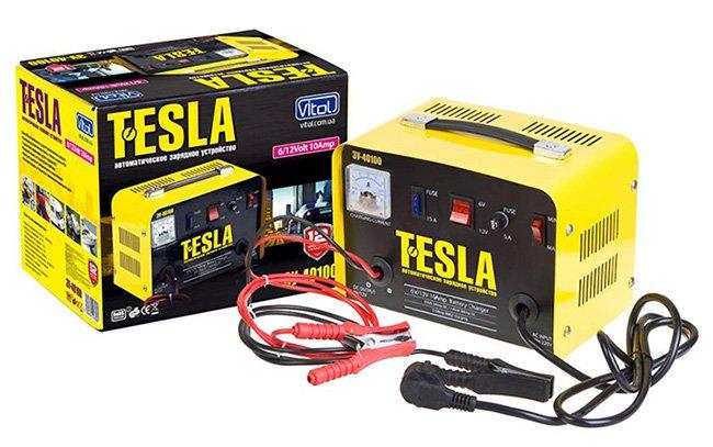 Зарядное устройство для аккумуляторных батарей Tesla