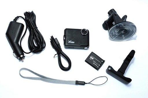 Автомобильный видеорегистратор X-vision H-730 с LCD дисплеем