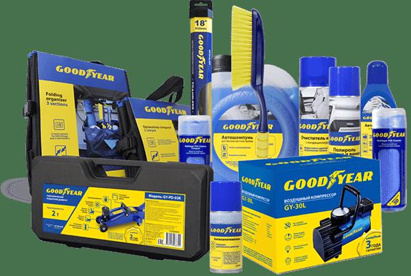 Goodyear — купить аксессуары мирового бренда на 130.com.ua!