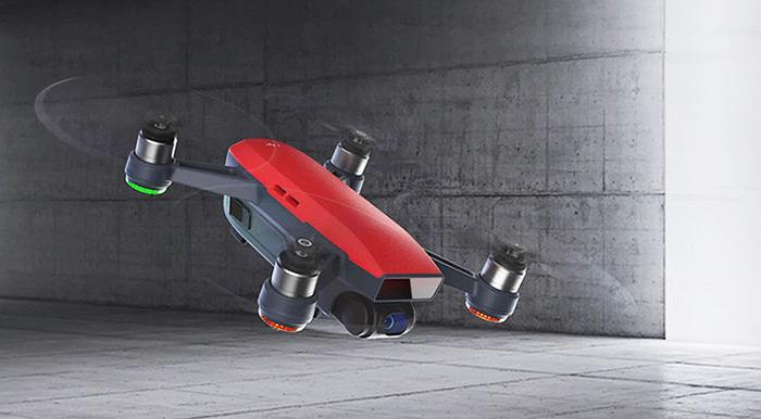 DJI Spark — новый квадрокоптер 2017 года!