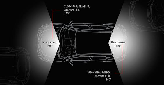 Gazer F735g и F720 — переваги відеореєстраторів