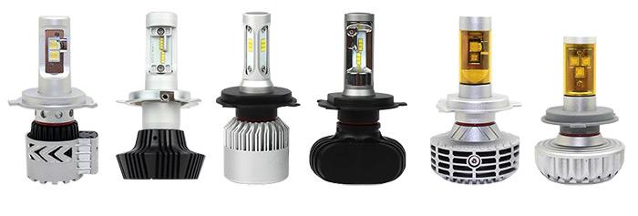 Светодиодные лампы — системы охлаждения ламп