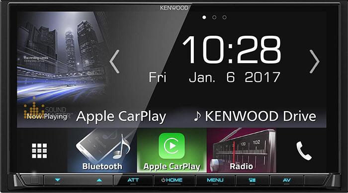 Kenwood — автомагнитолы 2017 года!