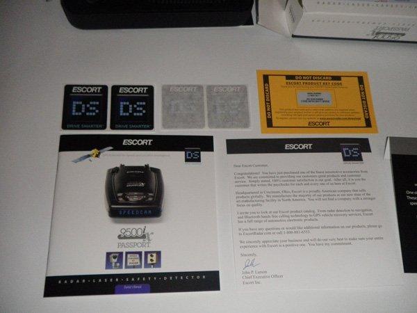 Радар-детектор с GPS Escort Passport 9500Ix International