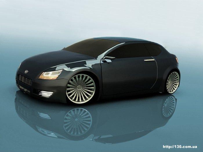 Первый серийный угольный автомобиль!