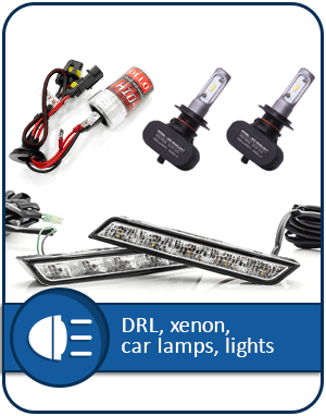 DRL, Xenon, Car Lamps, Lights