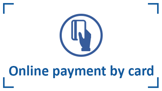 Online payment by card