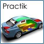 Шумоизоляция авто материалами Practik: сколько и куда?