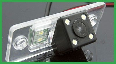 Input for rear view cameras and parking assistant