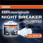 Lamps OSRAM Night Breaker Unlimited: how to ride at night as during the day