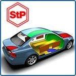 Шумоизоляция авто материалами StP: сколько и куда?