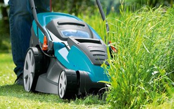 Lawn mowers, trimmers and brushcutters