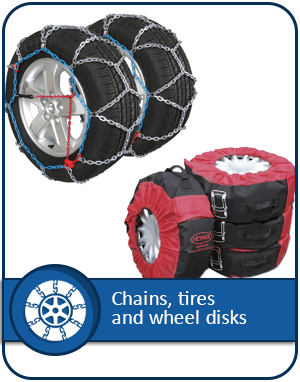 Chains, Tires and Wheel Disks