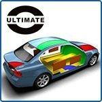 Шумоизоляция авто материалами Ultimate: сколько и куда?