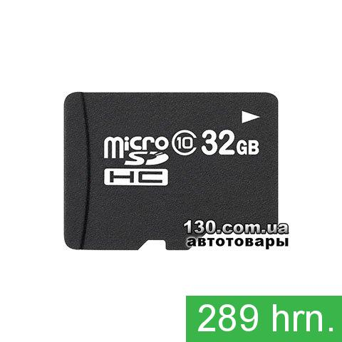 microSD memory card OEM 32 GB, Class 10 — for recording HD 1080P video (microSDHC 10) with SD adapter