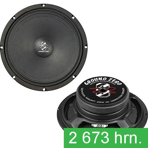 Midbass (woofer) Ground Zero GZCM 10-4FX