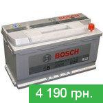 Battery for cars Bosch S5 Silver Plus (0092S50130) 100 Ah