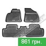 Rubber floor mats Rezaw-Plast 201306 for Peugeot 3008