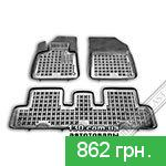 Car mats Rezaw-Plast RP 201227 for Citroen C4 Picasso II 2013
