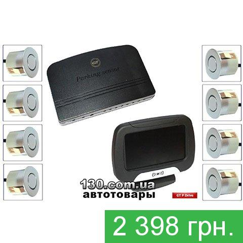 Парктроник GT P Drive 8 silver (P DR8 Silver) с LCD-дисплеем