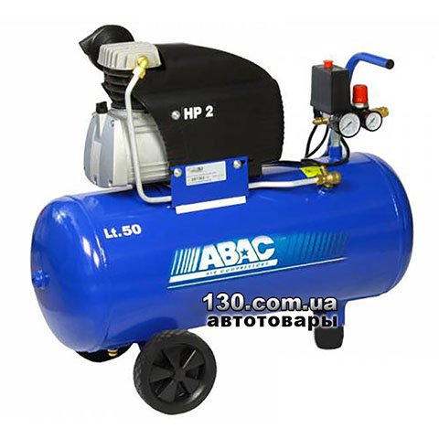 Direct drive compressor with receiver ABAC FC2/50 CM2 Blueline