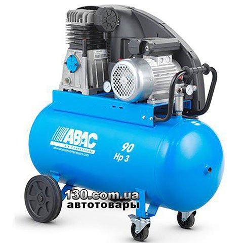 Belt Drive Compressor with receiver ABAC PRO A39B 90 CT3