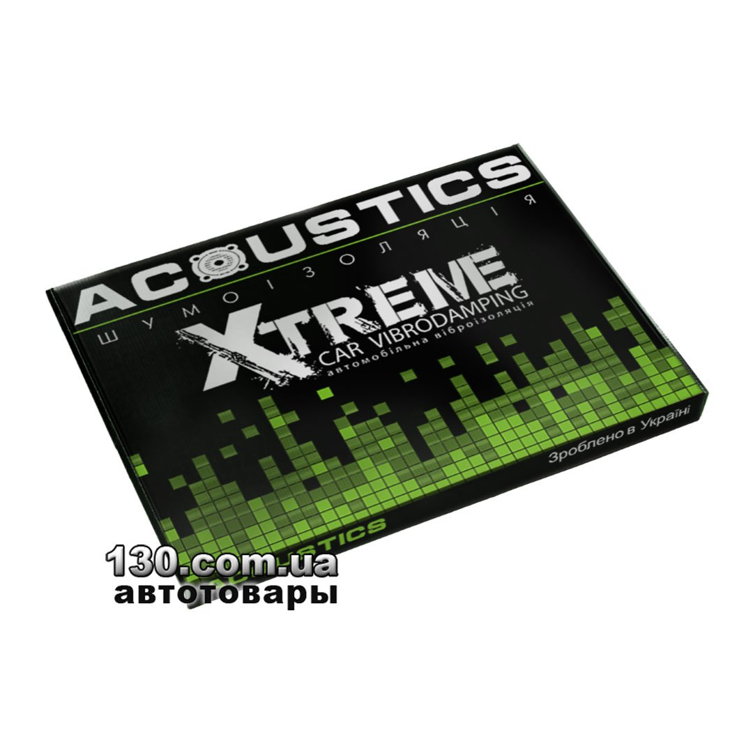 acoustics Виброизоляция ACOUSTICS Xtreme X4 (70 см x 50 см)